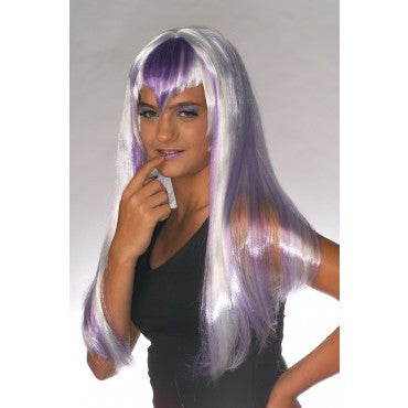 Purple Chill Wig