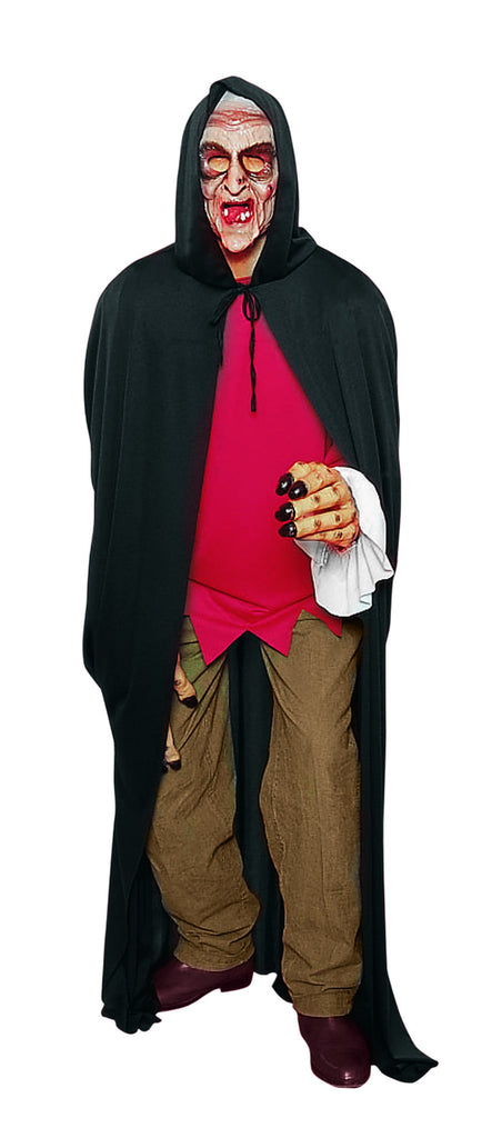 Halloween Capes Hooded Black Cape
