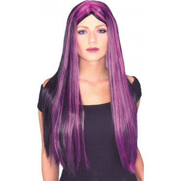 Long Witch or Vampira Wig - Various Colors