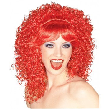 Bright Curly Wig - Various Colors