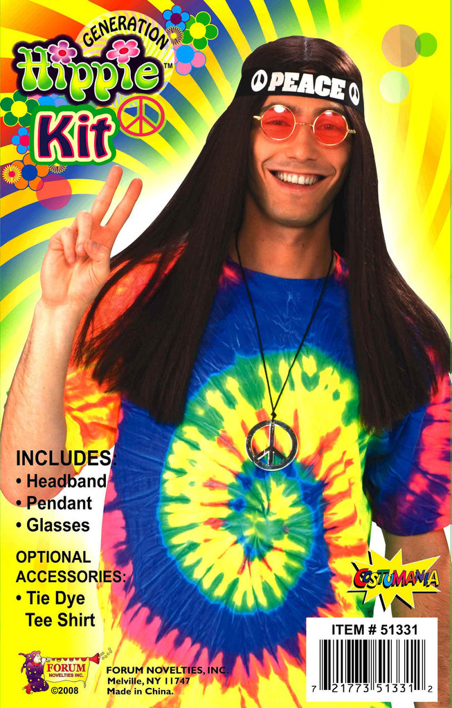 Halloween Costume Kits Hippie Costume Kit