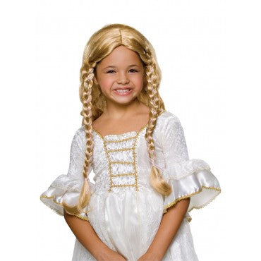 Kids Fairy Tale Princess Wig - Various Colors