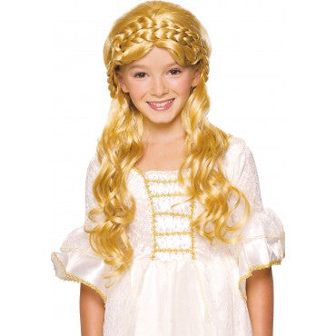 Kids Enchanted Princess Wig - Various Colors