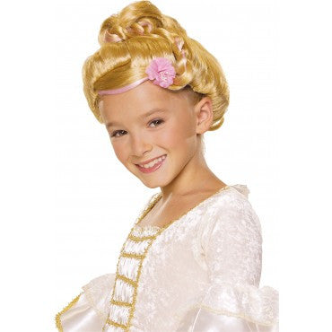 Kids Sophisticated Princess Wig - Various Colors