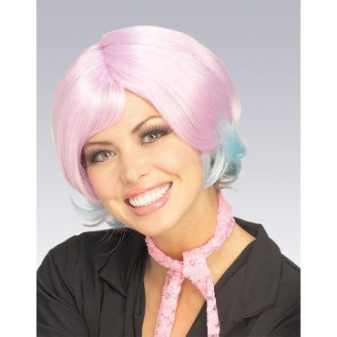 Sassy Two Tone Wig - Various Colors