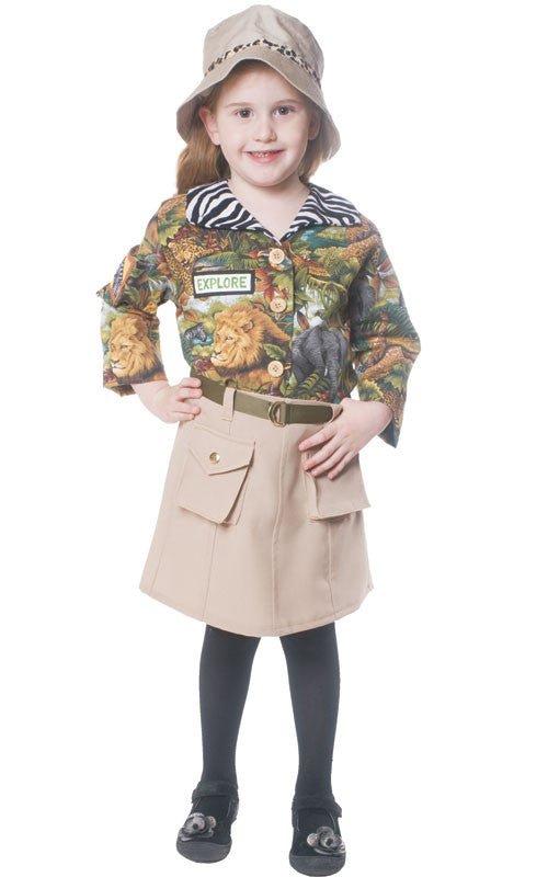 Girls Safari Tour Guide Costume