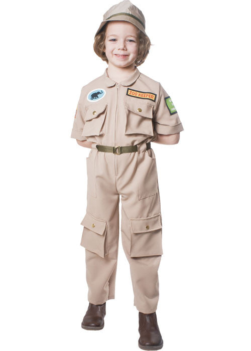 Kids/Toddlers Zookeeper Costume