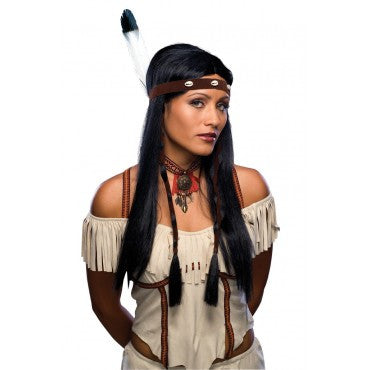 Black Native American Wig