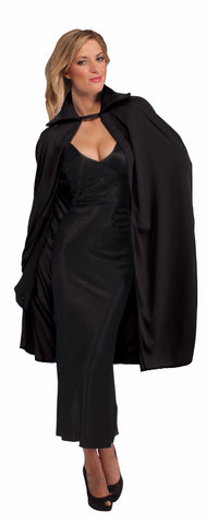 Halloween Capes Long Black 45 inch Cape
