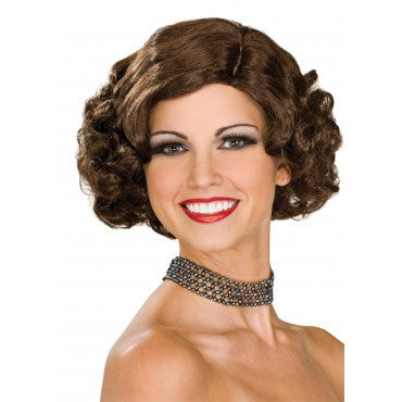 Flapper Wig - Various Colors