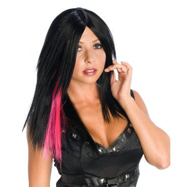 Dark Streak Wig - Various Colors