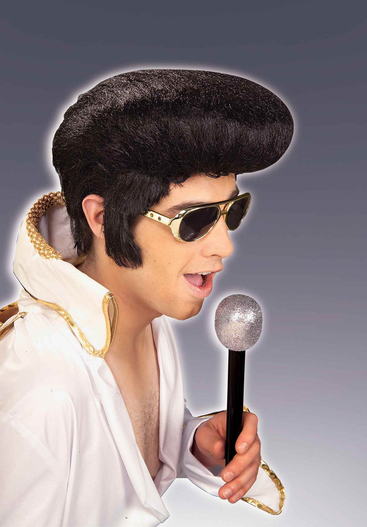 Halloween Wigs Retro Rock N Roll Costume Wigs