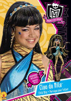 Kids Monster High Cleo de Nile Wig