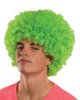 Rave Neon Afro Wig - Various Colors