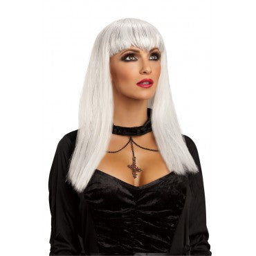Glitter Vampire Wig - Various Colors