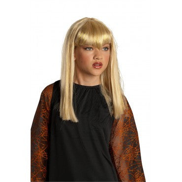 Kids Glitter Vampire Wig - Various Colors