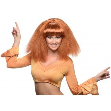 Go Disco Wig - Various Colors