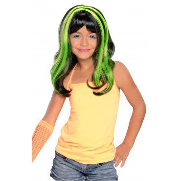 Kids Neon Streaks Wig - Various Colors