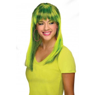 Neon Glamorous Wig - Various Colors