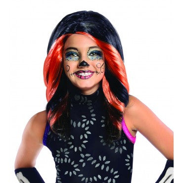 Kids Monster High Skelita Calaveras Wig