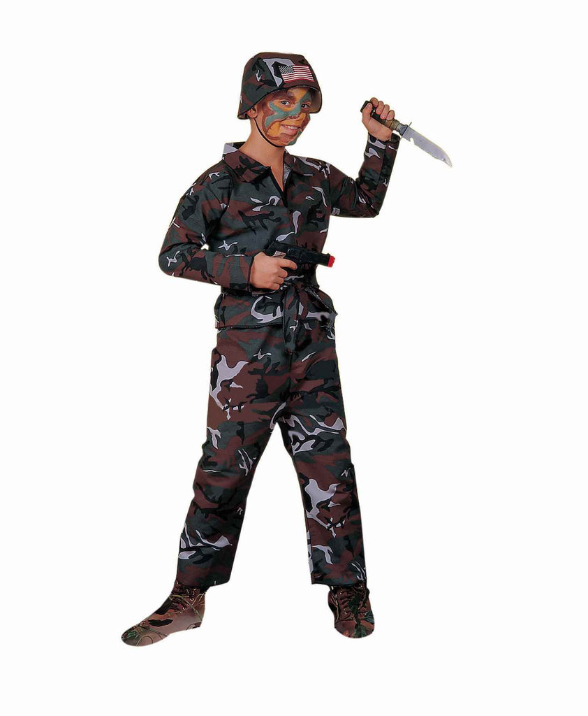 Halloween Costumes Army Soldier Kids Costumes