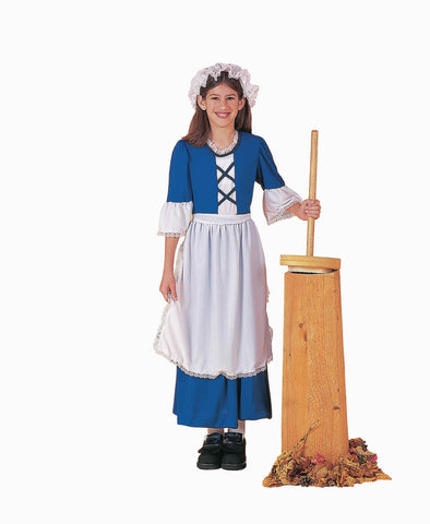 Colonial Girl Costumes Childs Halloween Costume