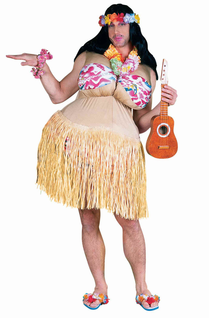 Funny Halloween Costumes Fat Hula Dancer Costume