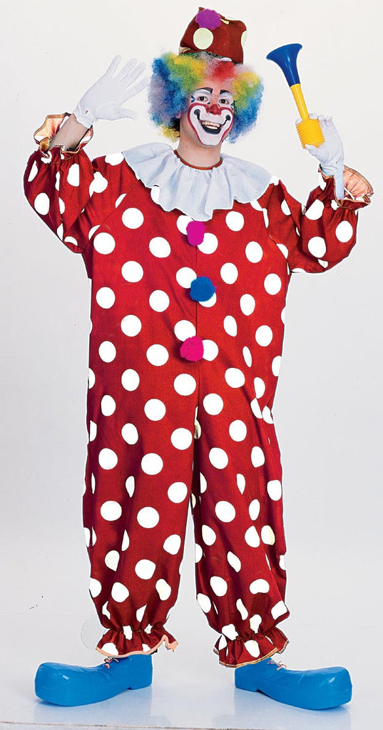 Adults Dotted Clown Costume
