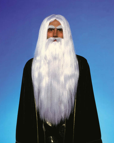 Costume Accessories Merlin Wig & Beard Sets