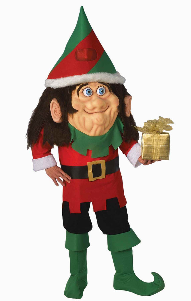 Santa's Elf Costumes Parade Quality Adults Costume