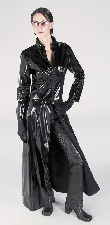 Womens Matrix Deluxe Trinity Costume