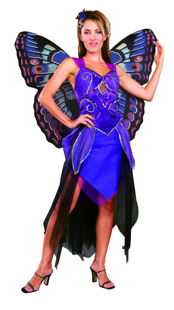 Womens Purple Butterfly Costume
