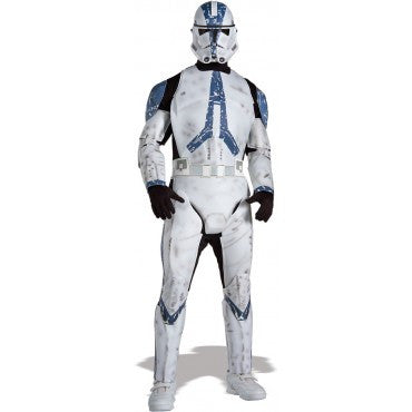 Mens Star Wars Deluxe Clone Trooper Costume