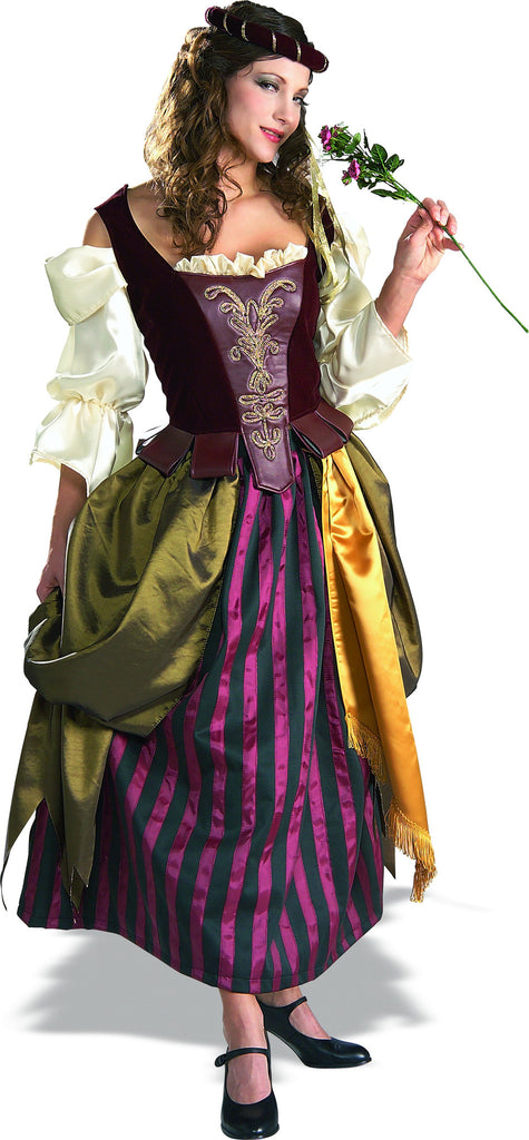 Womens Renaissance Maiden Costume - Grand Heritage