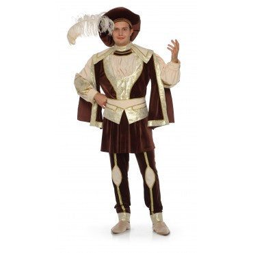 Mens Renaissance King Costume - Grand Heritage Collection