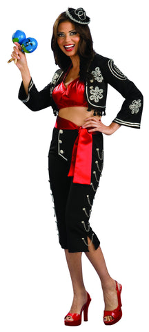 Womens Theatre Quality Senorita Costume
