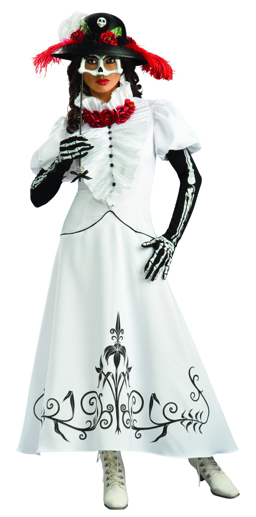 Womens Skeleton Bride Costume - Grand Heritage