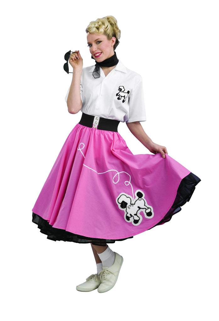 Womens Poodle Girl Costume