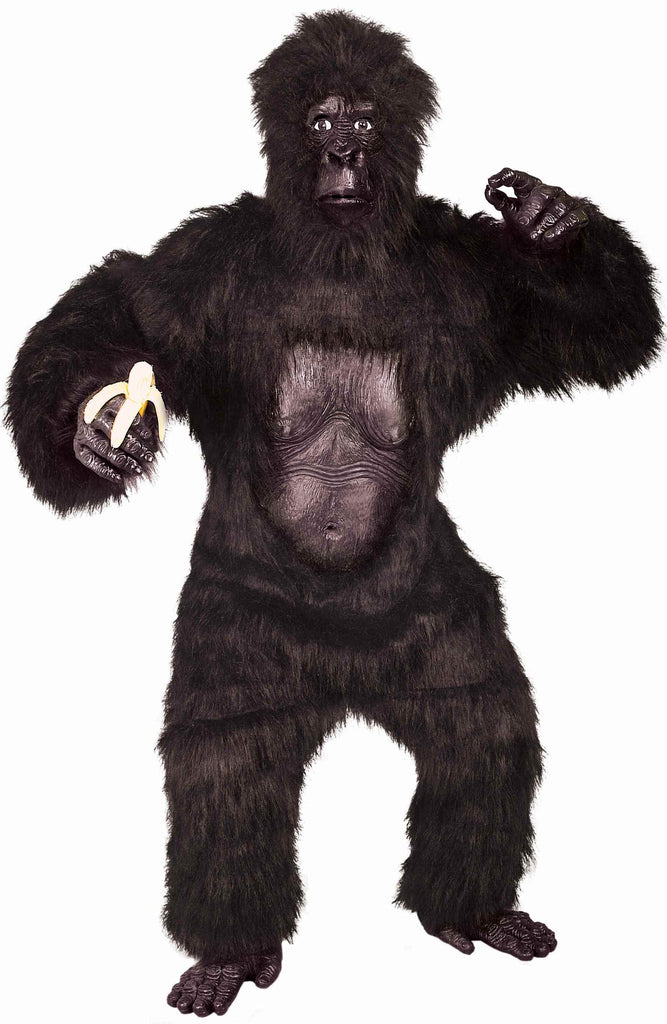 Deluxe Gorilla Costumes Adults Halloween Costume