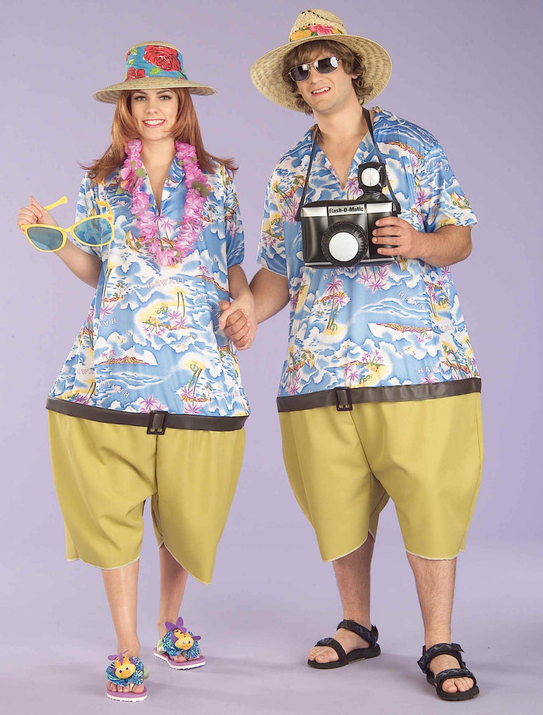 Funny Halloween Costumes Tropical Tourist Costumes