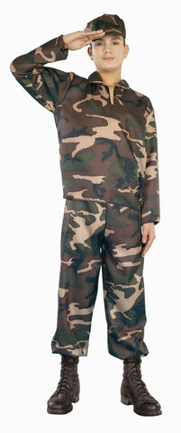 Halloween Costumes Army Soldier Teens Costume