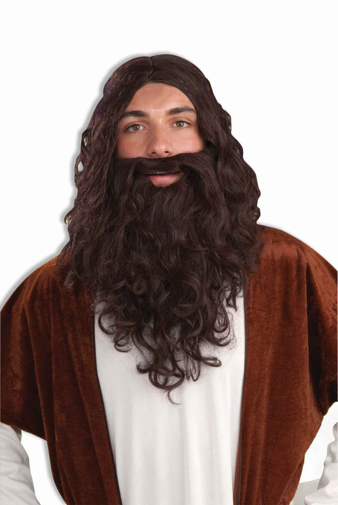 Costume Wigs Biblical Wig & Beard Costume Wig