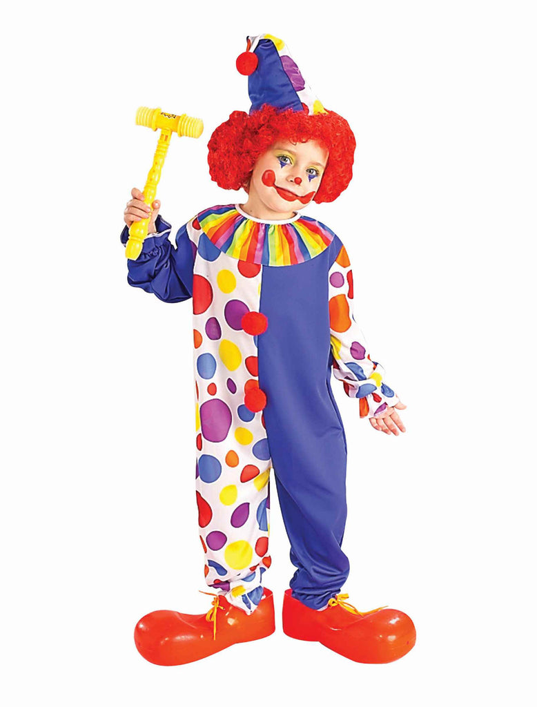 Clown Costume Kids Clown Halloween Costumes