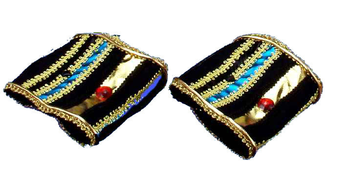 Egyptian Costume Wrist Cuffs Halloween Costume Accessories