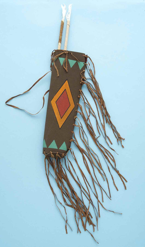 Native American Quiver and Arrow Set