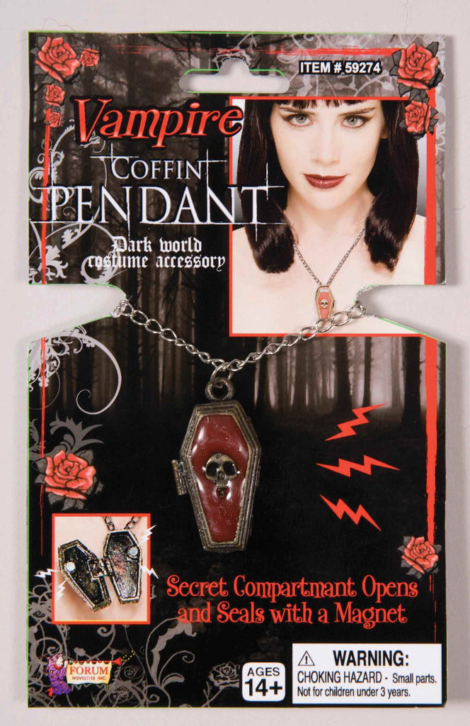 Vampire Coffin Pendant