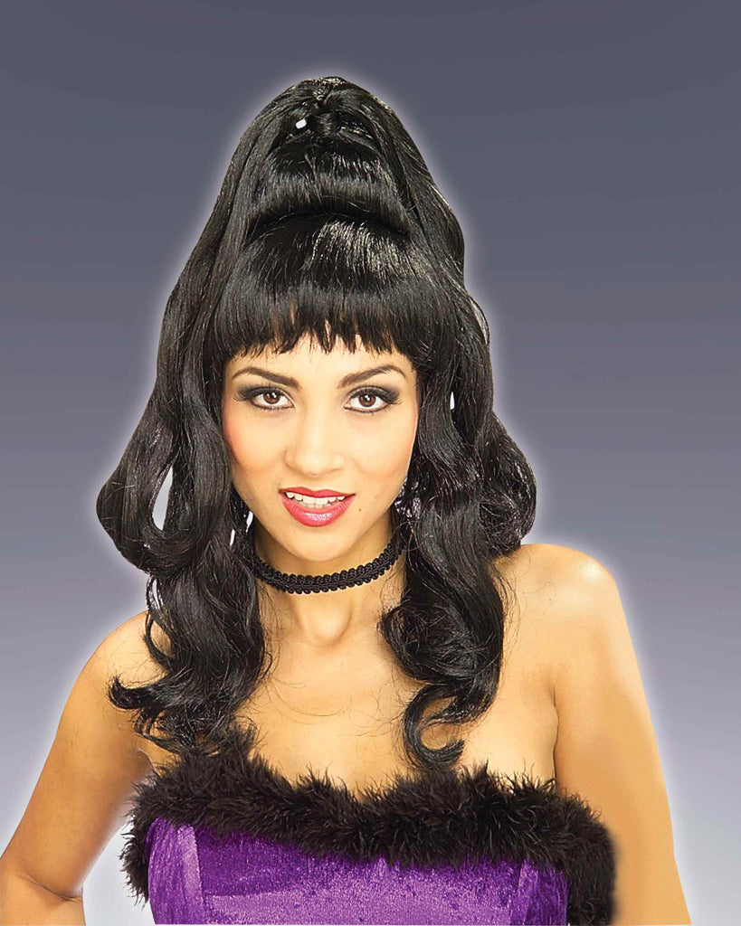 Costume Wigs  Sexy Black Pony Tail Wig