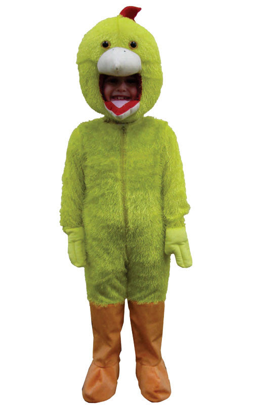 Adults Yellow Chicken Mascot Costume