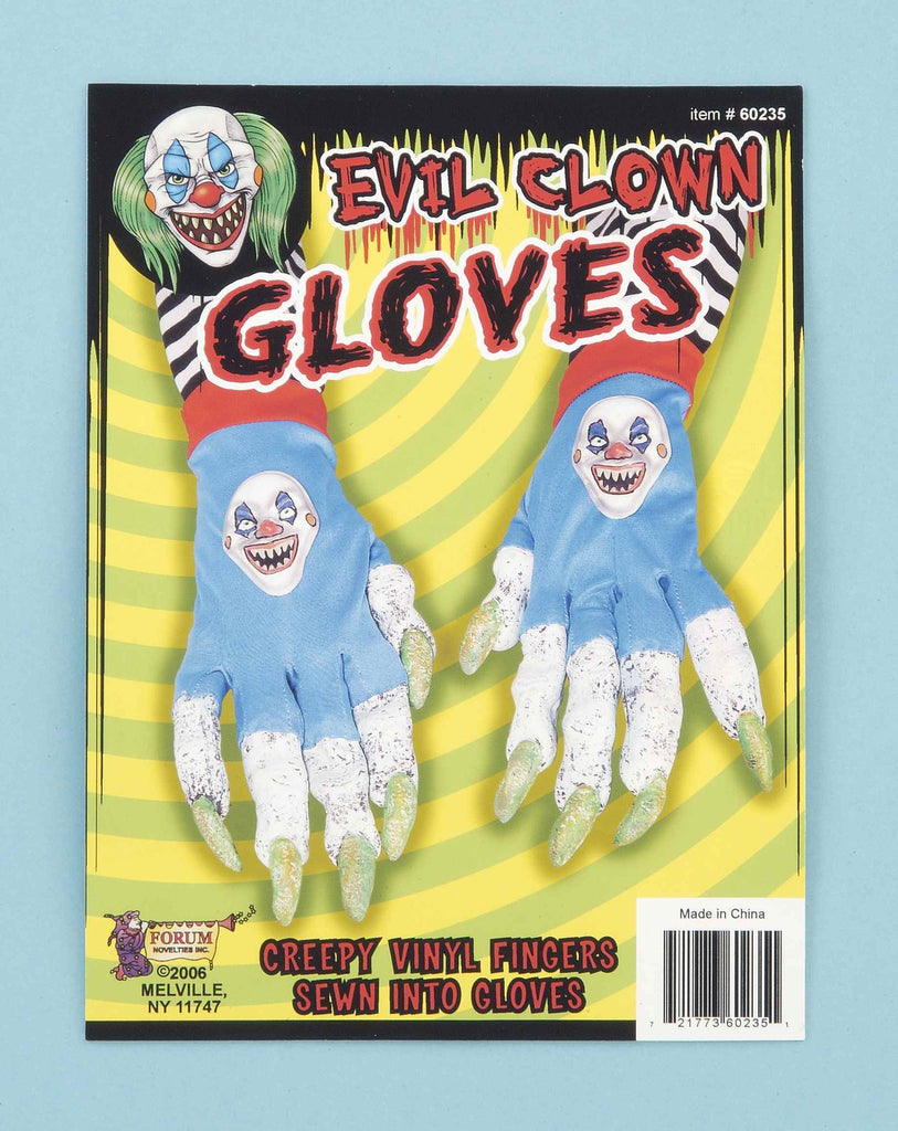 Halloween Costume Evil Clown Hands