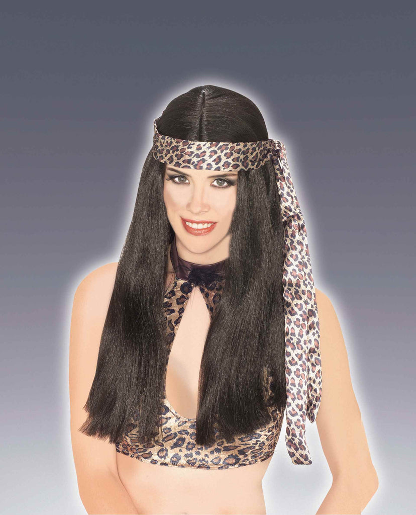 Costume Wigs Cave Woman Wig Black